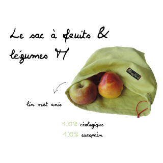 Bag To Green Sac à Fruits & Légumes M