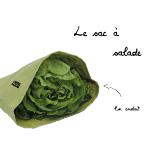Bag To Green Sac à Salade Imperméable