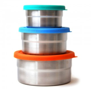 Blue Water Bento Seal Cup Trio