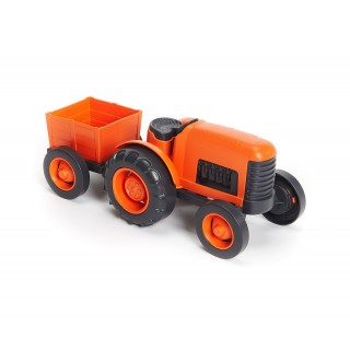 Green Toys Tracteur Orange