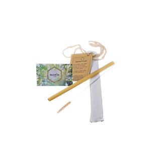 Sipster Paille de Bambou - 1pc en sachet