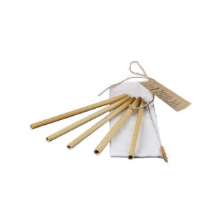 Sipster Bamboe Rietjes - 5st in zakje