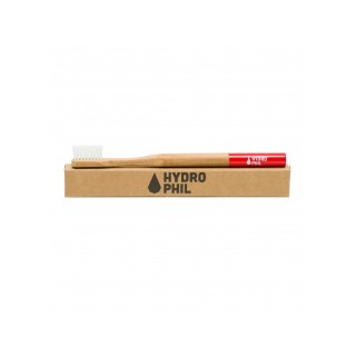 Hydrophil Brosse à Dents Durable - Medium - Rouge