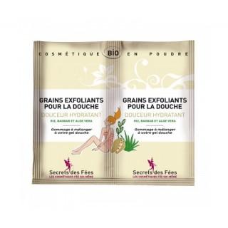 Secrets des Fées: Grains Exfoliants pour la Douche - Douceur Hydratant