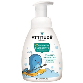 Attitude Little Ones | Savon Mousse pour les Mains | Pear Nectar