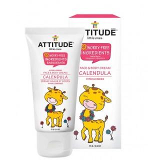 Attitude Little Ones | Crème Visage et Corps Calendula